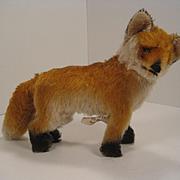 Steiff's Medium Sized Early Post War Fox With ID