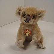 Steiff's Smallest Mohair Koala Bear With ID