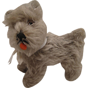 Steiff's Medium Sized Tessie Schnauzer With ID