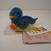 Steiff's Lara Songbird With All IDs