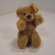 Steiff's Smallest Fully Jointed Early Postwar Teddy Bear With All IDs