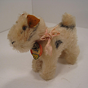 Steiff's Almost Smallest Foxy Fox Terrier With IDs