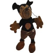 Steiff's Early and Original Mickey Mouse Doll With ID
