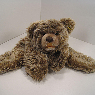Steiff's Zotty Bear Style Pajama Bag With IDs