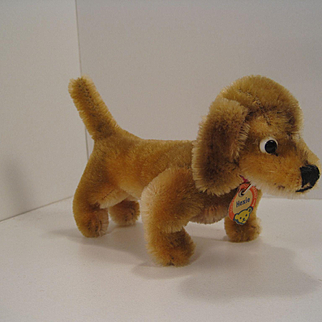 Steiff's Smallest Hexie Dachshund With All ID