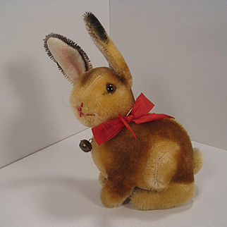 Steiff's Medium Sized Mohair Sitting Sonny The Bunny