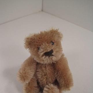 Steiff's Fully Jointed Smallest Caramel Mohair Teddy Bear