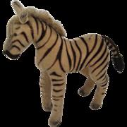 Steiff's Almost Largest Mohair Zebra