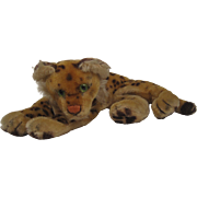 Steiff's Smallest Lying Leopard With ID