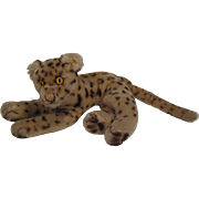 Steiff's Smallest Lying Ocelot With IDs