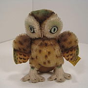 Steiff's Smallest Wittie Owl With IDs