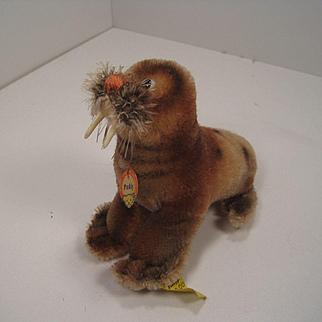 Steiff's Smallest Paddy Walrus With IDs