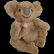 Steiff's Utterly Charming Medium Sized Mohair Koala Bear With Two IDs
