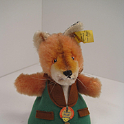 Steiff's Fox Nightcap Doll With All IDs