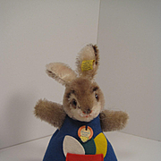 Steiff's Rabbit Nightcap Doll With All IDs
