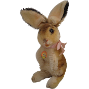 Steiff's Almost Smallest Begging Manni Bunny Rabbit With ID