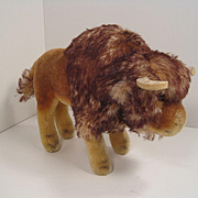 Steiff's Handsome and Rare Medium Sized Mohair Bison