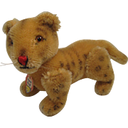Steiff's Smallest Early Postwar Lion Cub With ID