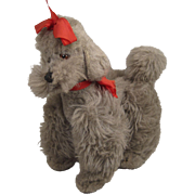 Steiff's Smallest FAO Schwarz Exclusive Grey Snobby the Poodle With ID