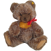 Steiff's Medium Sized Soft Plush Zotty Bear With IDs