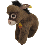 Steiff's Adorable Plush Assy The Donkey With All IDs