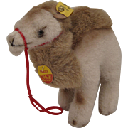 Steiff's Soft Plush Hocky Camel With All IDs