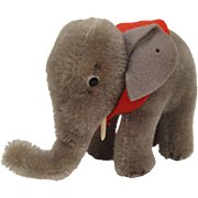 Steiff's Almost Smallest Grey Mohair Standing Elephant
