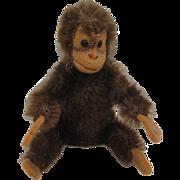Steiff's Smallest Bendy Style Mohair Jocko Baby