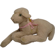 Steiff's Largest Lying Lamb With All IDs