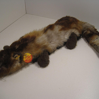 Steiff's Delightful and Quirky Wizzi Ferret With All IDs