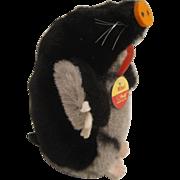 Steiff's Soft Plush Maxi Mole With All IDs