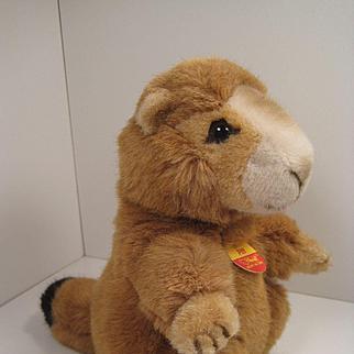 Steiff's Soft Plush Piff Marmot With All IDs