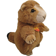 Steiff's Soft Plush Piff Marmot With All IDs
