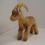 Steiff's Smallest Rocky Capricorn Goat With All IDs