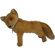 Steiff's Largest Early Postwar Fox With IDs