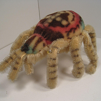 Steiff's Largest Mohair Spider With IDs