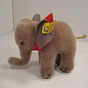 Steiff's Almost Smallest Mohair Elephant With All IDs