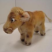 Steiff's Smallest Mohair Oxy Ox