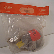 Steiff's Tiniest Postwar Mohair Elephant With All IDs In Original Package With Special Booklet