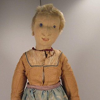 Steiff's Early Helma the Dutchwoman Felt Doll