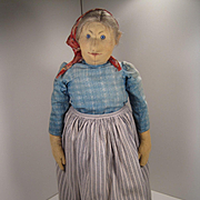 Steiff's Brenz Farmer's Wife Doll With ID