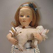 R John Wright's Exquisite The Nursery Alice Limited Edition Doll From 2006