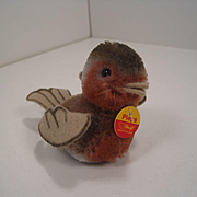 Steiff's Tiny and Adorable Mohair and Felt Pieps Songbird With All IDs