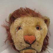 Uncataloged Miniature Steiff Lion Head Trophy