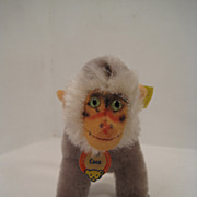 Baby Steiff Coco Baboon With All IDs
