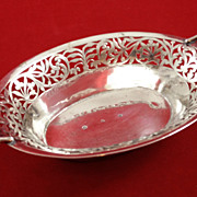Beautiful Austrian 812 silver candy bowl c. 1810-1824