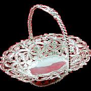 Beautiful George III sweetmeat basket c. 1768
