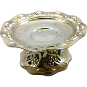 Austrian Art Nouveau 800 silver centerpiece or compote
