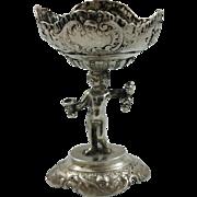Small 800 silver bowl made in Hanau