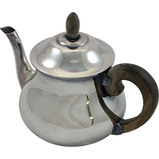 German 835 silver teapot